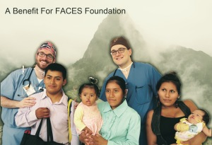 FACES invitation cover