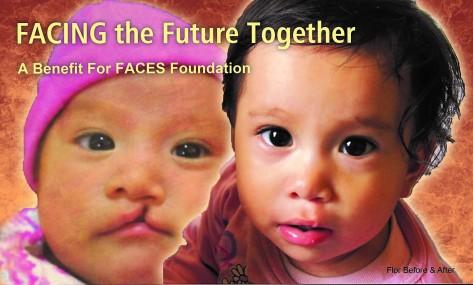FACES auction invitation cover