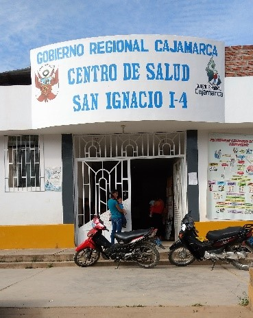 Clinic in San Ignacio, used for patient evaluations