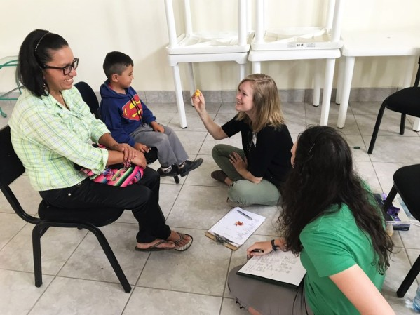 Speech Therapy, in action